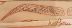 Как делают волосковый микроблейдинг?
